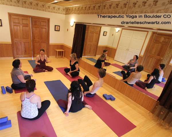 Photo of Therapeutic Yoga Class in Boulder CO