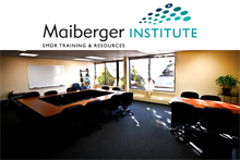Dr Arielle Schwartz teaches classes at Maiberger Institute