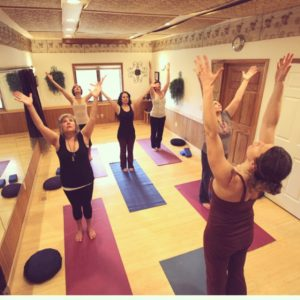 Dr. Arielle Schwartz Therapeutic yoga classes in Boulder