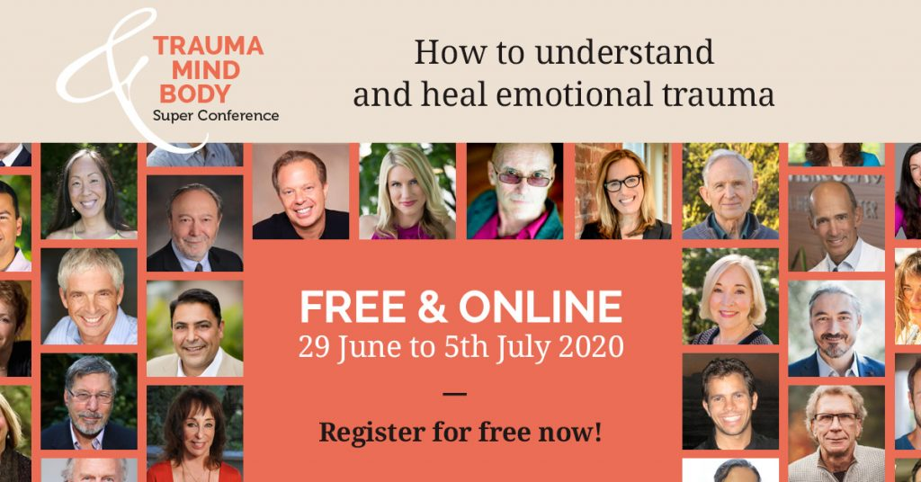 Trauma and Mind Body Super Conference Summit Flyer