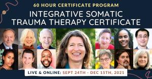 Integrative Somatic Trauma Therapy Certificate program