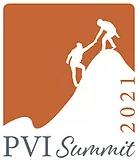 PVI Summit 2021 - Silhouettes climbing a mountain